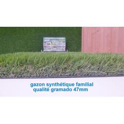 Gazon synthétique gramado 47mm
