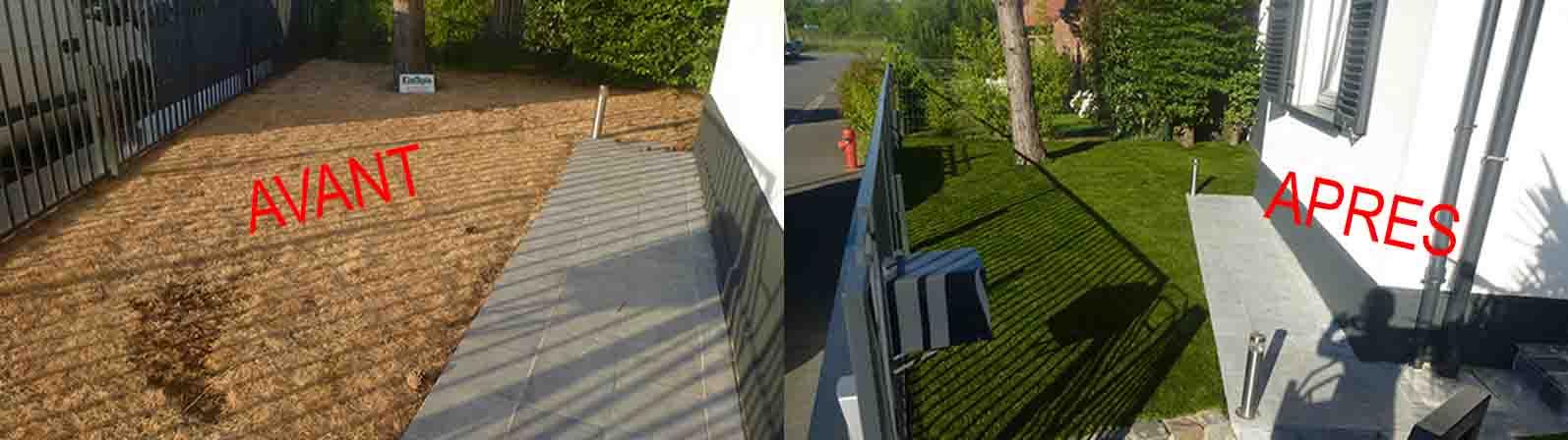 Exemple de réalisation - jardin