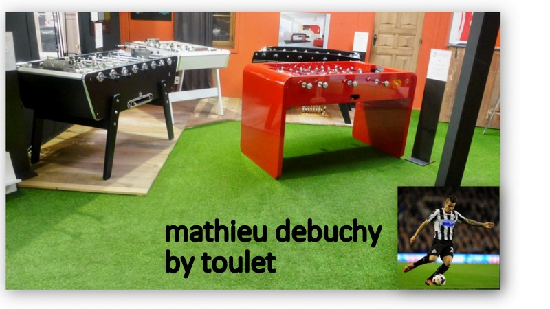 Partenaire Gazon AzurNord - Mathieu Debuchy By Toulet