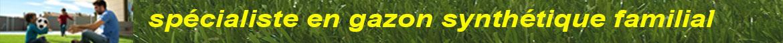 gazon synthetique - spécialiste en gazon synthétique familial