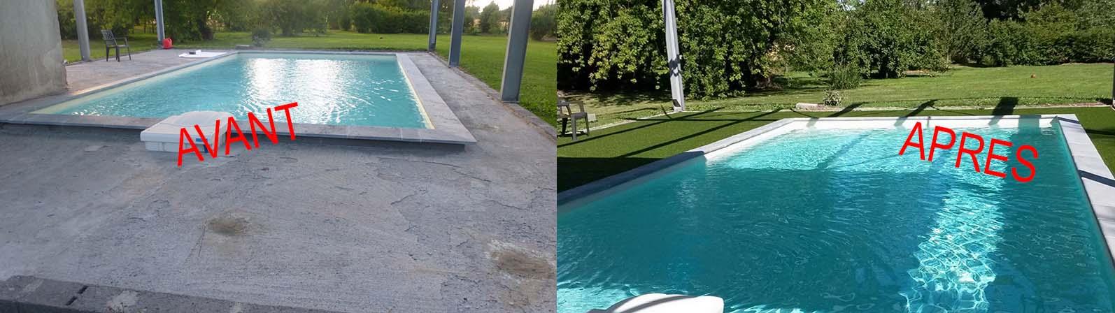Exemple de réalisation - piscine